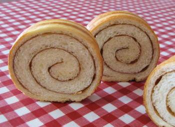 クルクルなラウンド食パン